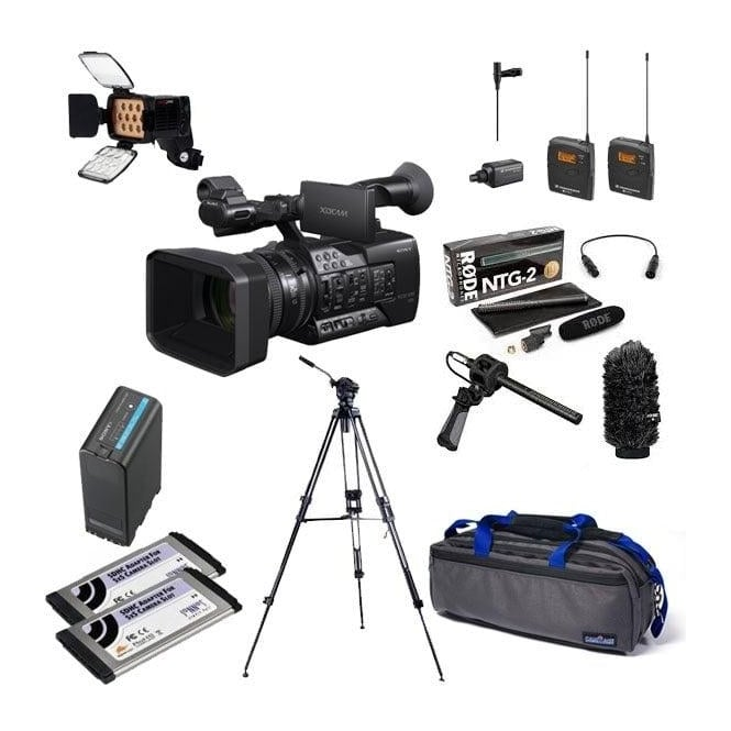 Sony PXW-X160 XDCAM with 25x Zoom lens Camcorder package g