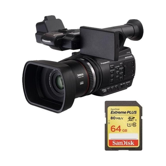 Panasonic PAN-AGAC90 AEJ Professional AVC-HD Camcorder Package a