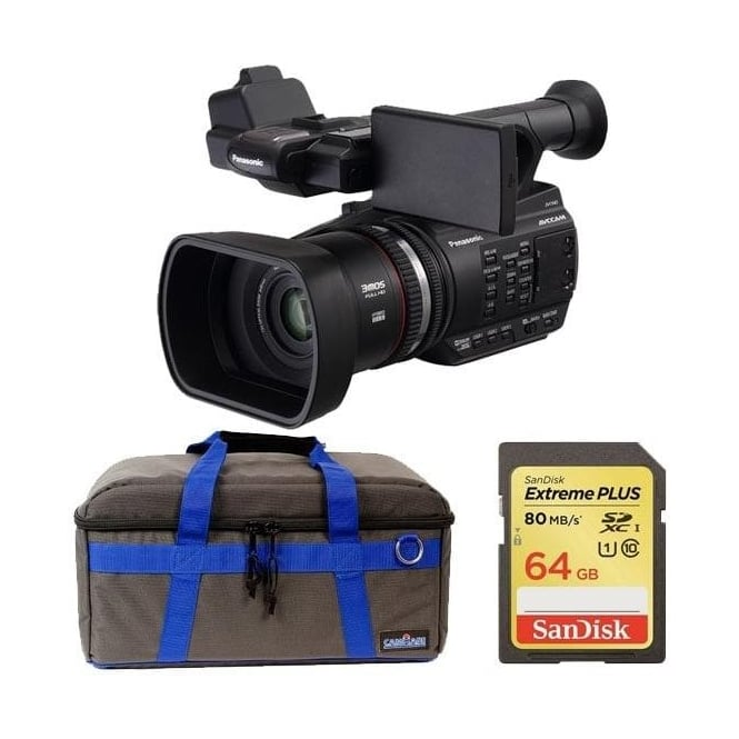 Panasonic PAN-AGAC90 AEJ Professional AVC-HD Camcorder Package b