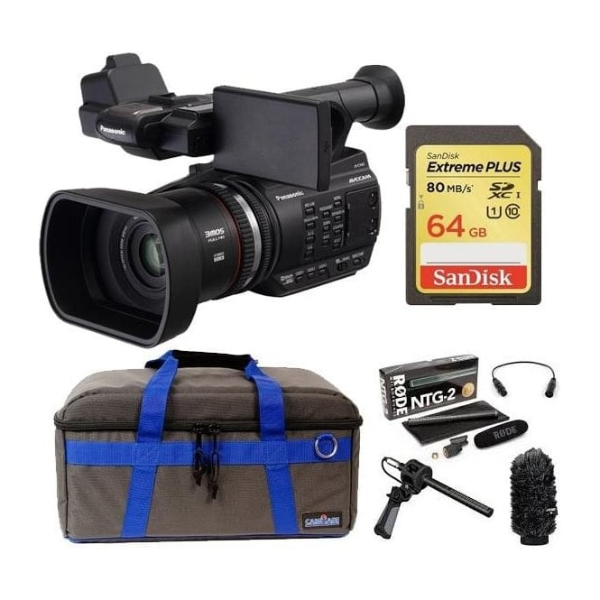 Panasonic PAN-AGAC90 AEJ professional avc-hd camcorder package c