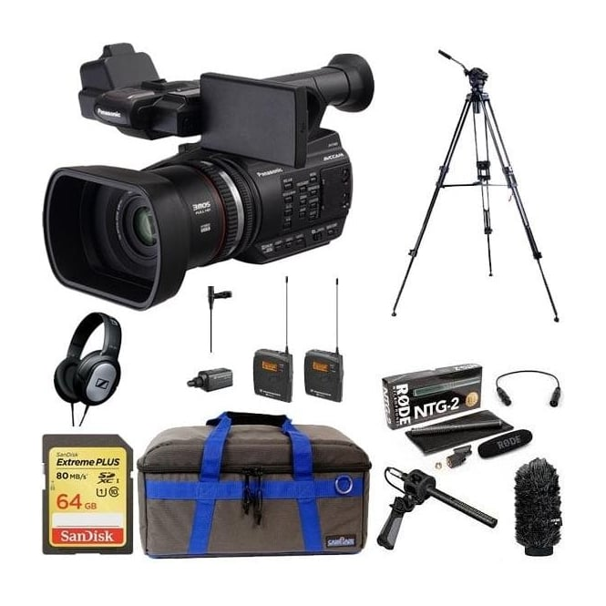 Panasonic PAN-AGAC90 AEJ professional avc-hd camcorder package e