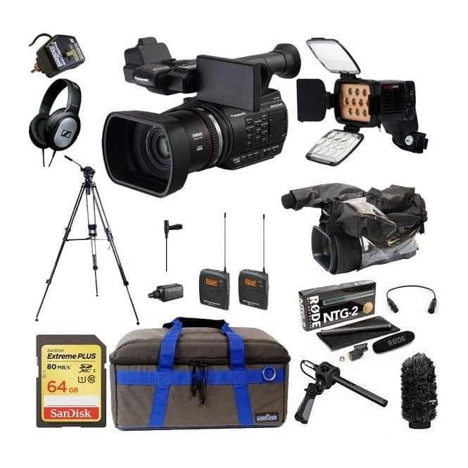 Panasonic PAN-AGAC90 AEJ Professional AVC-HD Camcorder Package F