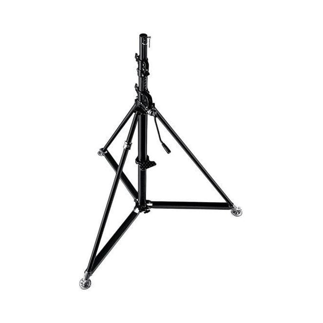 Manfrotto 387XBU Super Wind Up Black Steel Stand