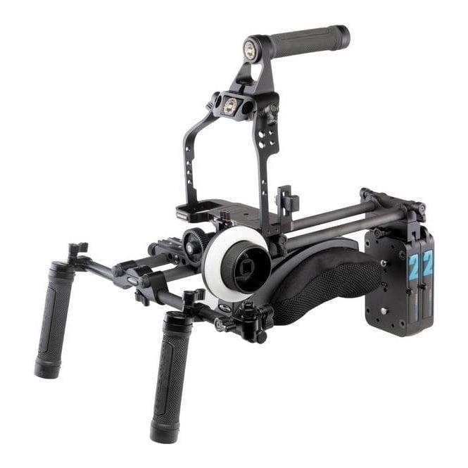 Redrock 8-113-0009 ultraCage Black Ultimate Field Cinema Bundle for DSLR