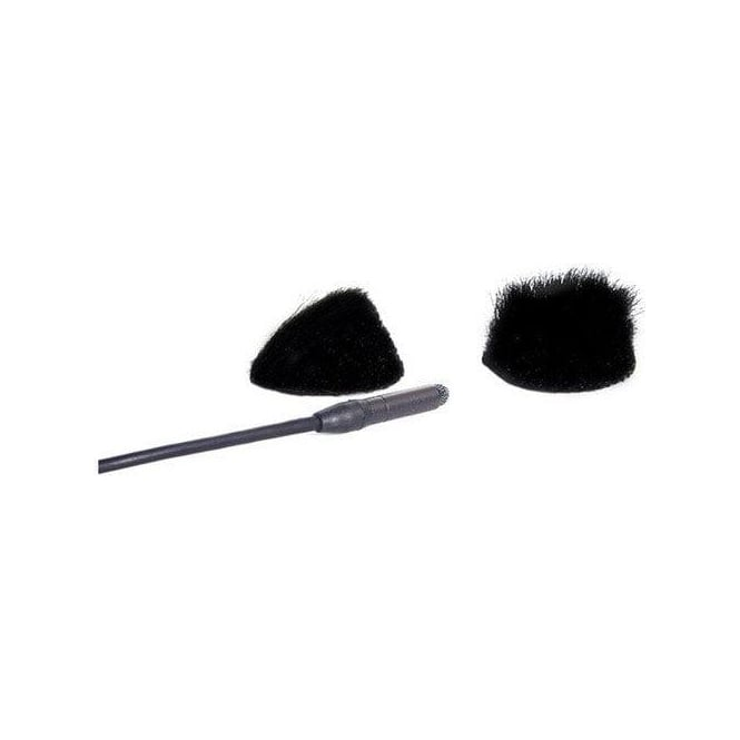 Rycote 065531 Overcovers fur discs only, Black pack of 100