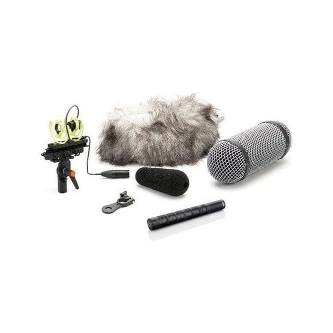DPA 4017C-R Shotgun Microphone Compact with Rycote Windshield
