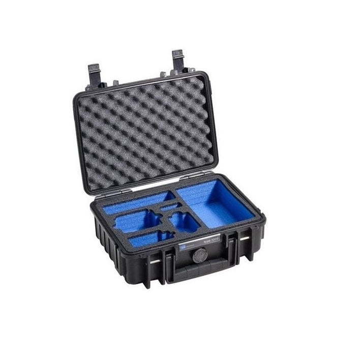 B&W 5100045 Outdoor Case Type 1000 for GoPro, Black