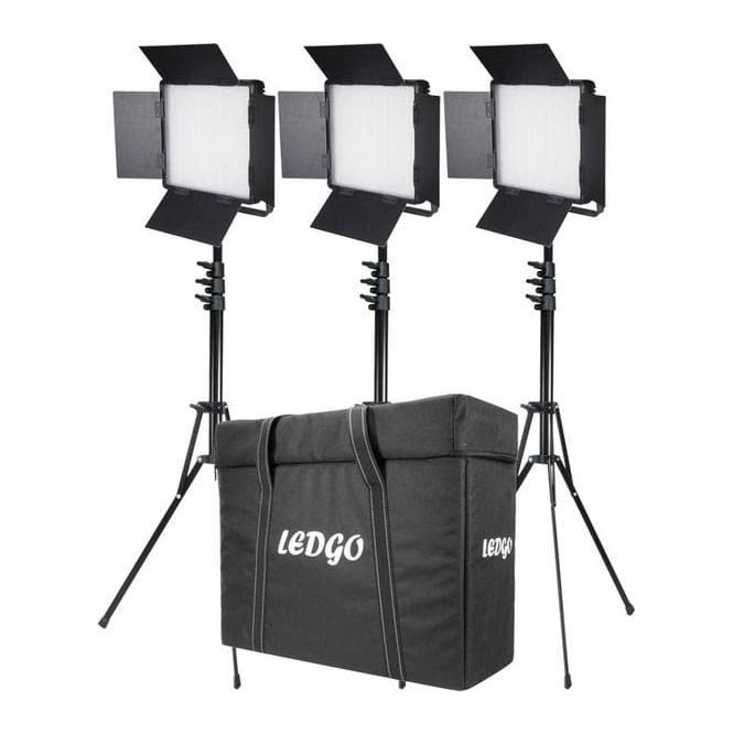 Datavision 3x LG-900SC Daylight Location Lighting Kit