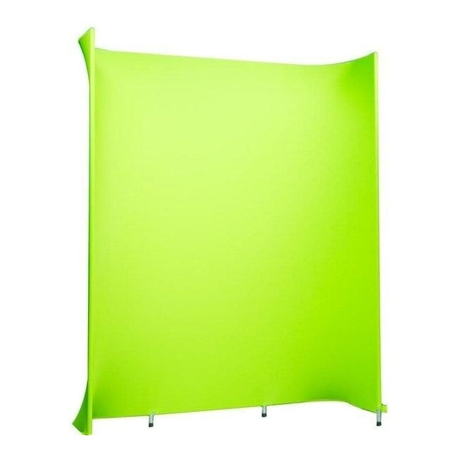 Datavision DVS-DARCMW180 Self standing, curved green screen background studio kit