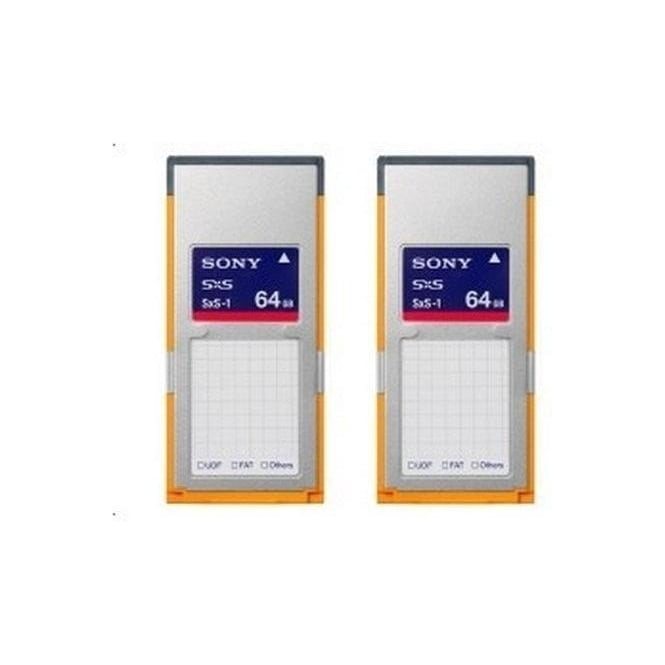 Sony 2SBS64G1B SXS 1B Memory Card for XDCAM