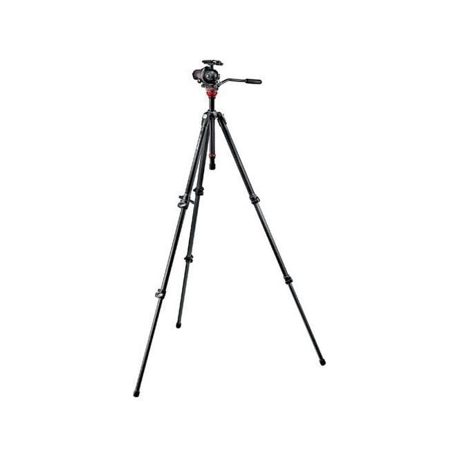 Manfrotto 755CX3-M8Q5 055 CF KIT-3s Photo Movie head