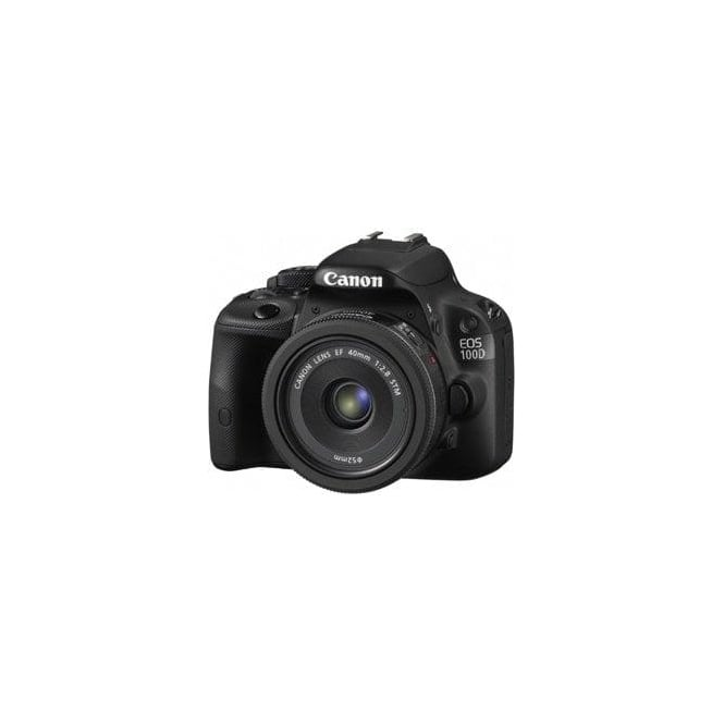 Canon CANON100D185540STM Camera + 18-55 STM IS + 40mm STM Lenses