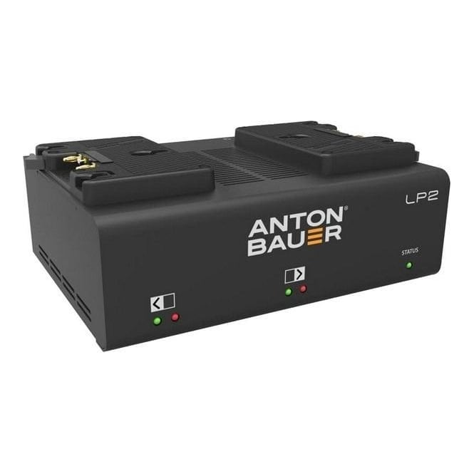 Anton Bauer ATB-8475-0125 LP2 Dual Gold Mount Charger