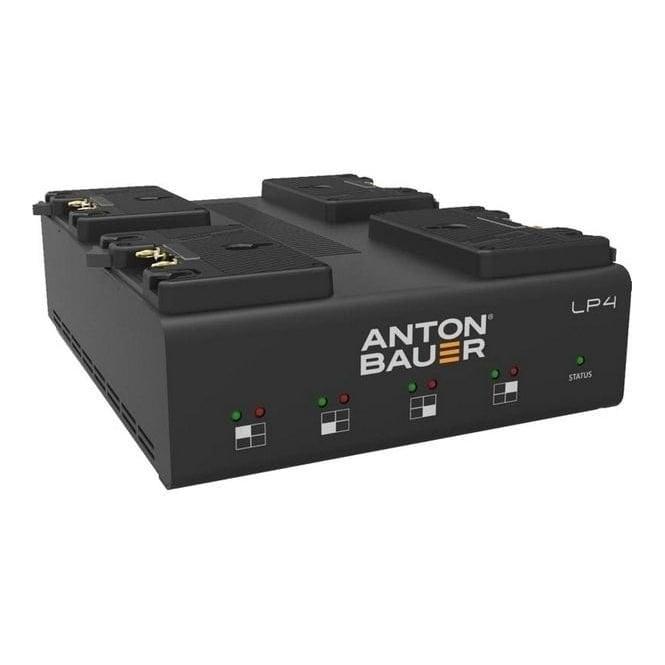 Anton Bauer ATB-8475-0126 LP4 Quad Gold Mount Charger