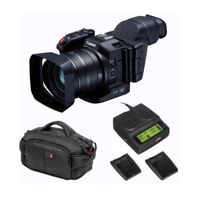 Canon XC10 Ultra High Definition Camcorder Package B