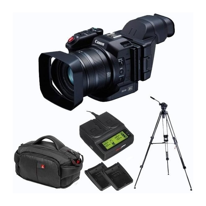Canon XC10 Ultra High Definition Camcorder package c