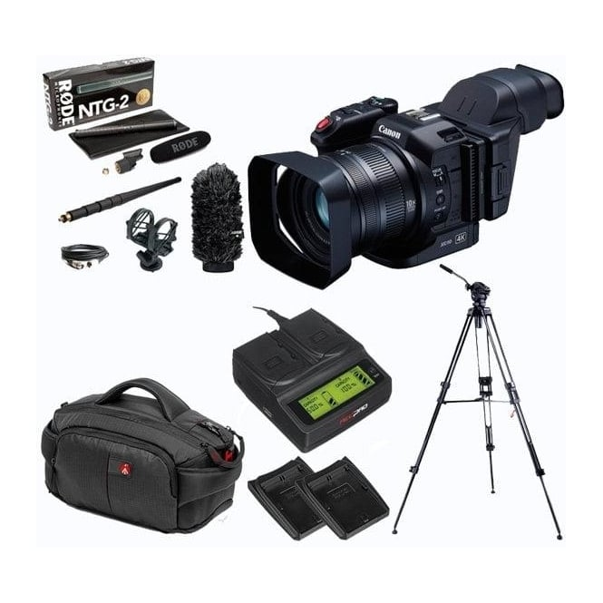 Canon XC10 Ultra High Definition Camcorder package d
