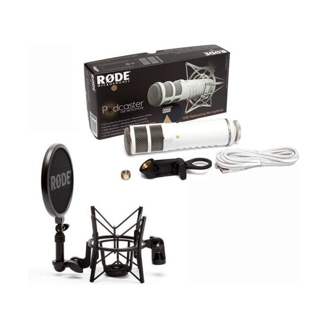 Rode Podcaster Microphone Package A