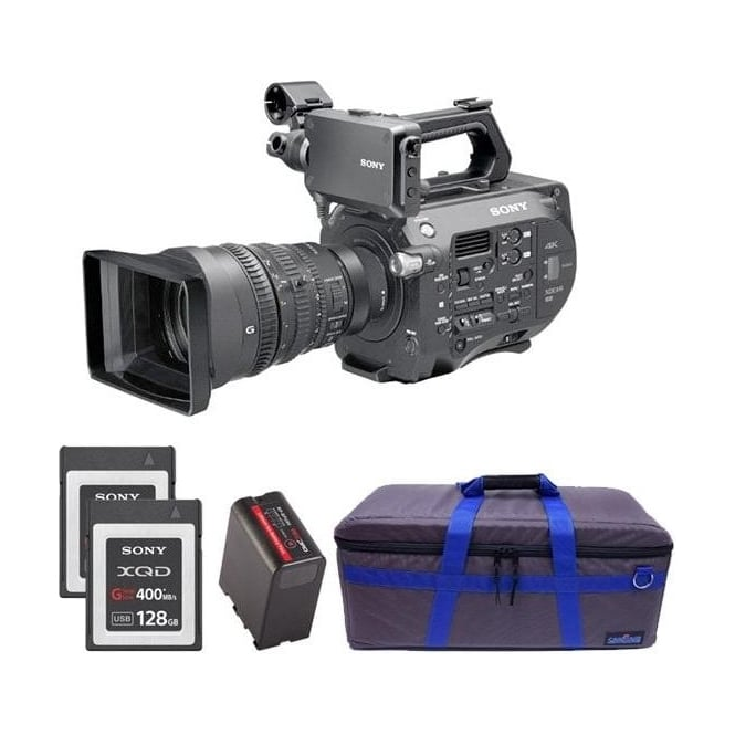 Sony PXW-FS7K 35mm XDCAM Camera with Lens package B with free RedPro battery