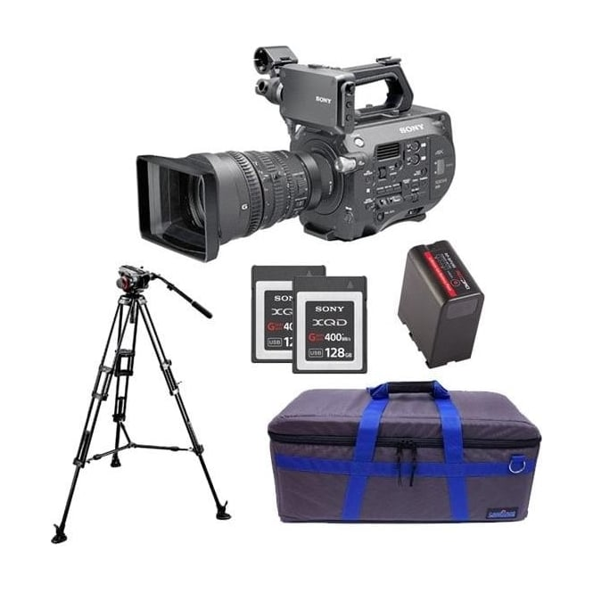 Sony PXW-FS7K 35mm XDCAM Camera with Lens package C with free RedPro battery