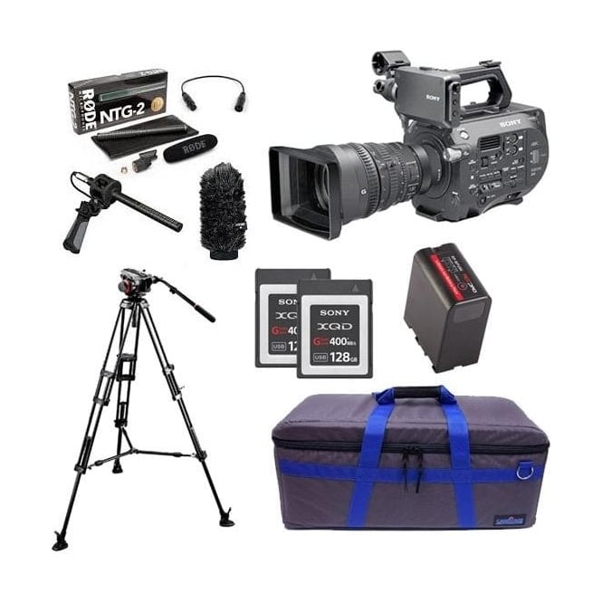 Sony PXW-FS7K 35mm XDCAM Camera with Lens package D with FREE RedPro Battery