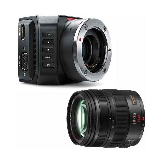 Blackmagic BMD-CINSTUDMFT/UHD/MR Micro Studio Camera 4K package A