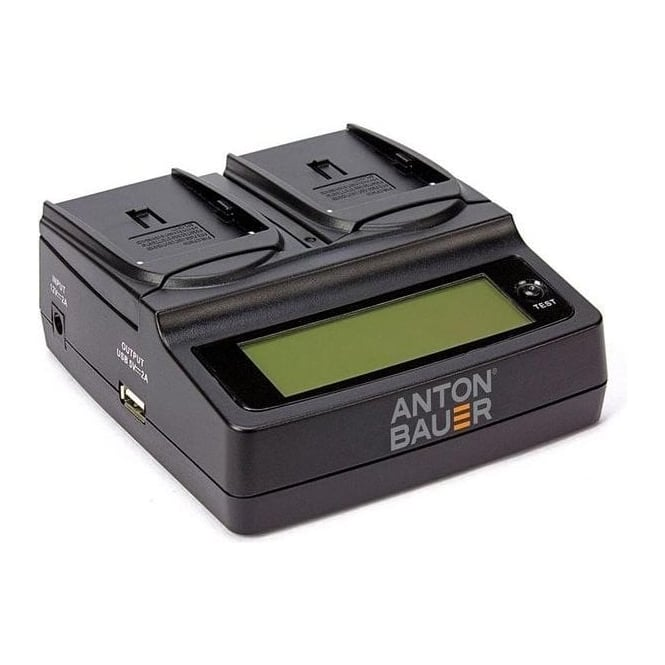 Anton Bauer ATB-8475-0130 L-Series Dual Two Position Charger