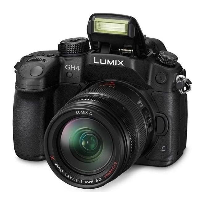 Panasonic PAN-DMCGH4REBK DMC-GH4R Lumix G Compact System Camera