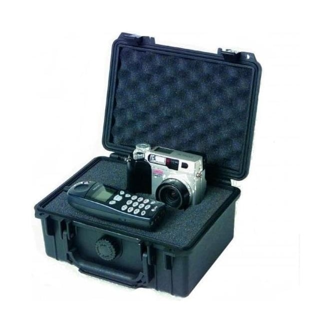 Peli 1150 Case with foam 215 x 150 x 94 Black