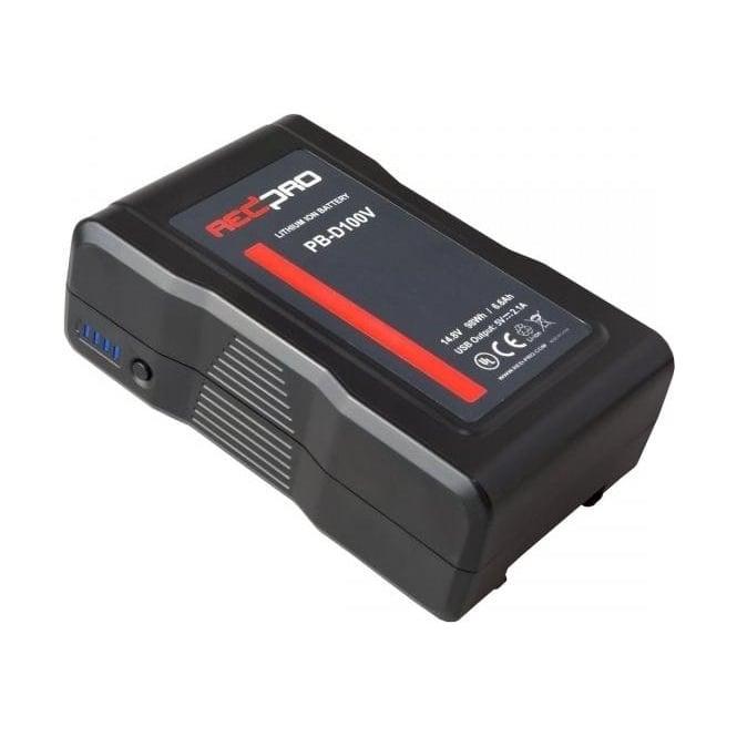 Redpro PB-D100V Li-Ion Battery Pack - 14.8V / 98Wh V-Lock