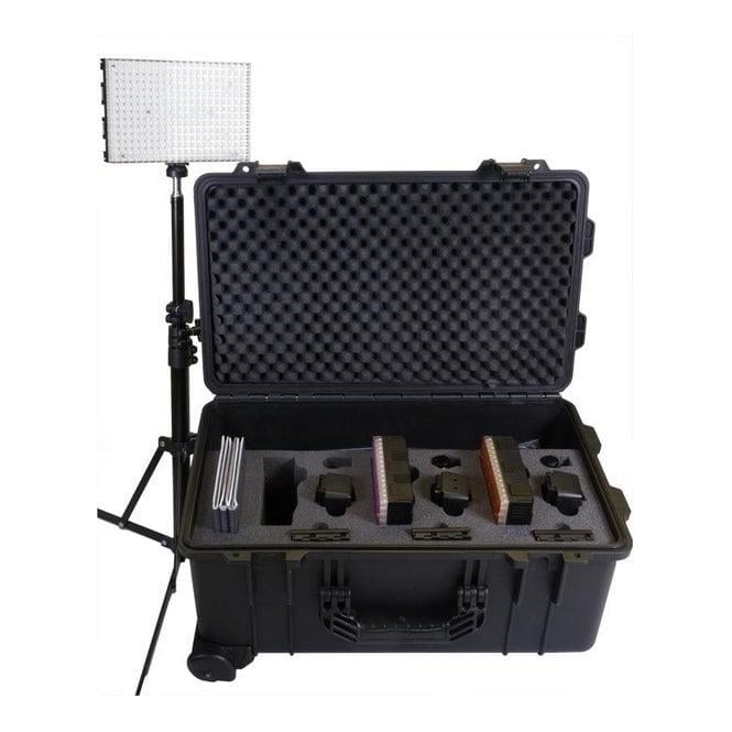 Datavideo DATA-PLK300 PLK-300 3 x Modular Dual Colour LED Light Reporter Kit