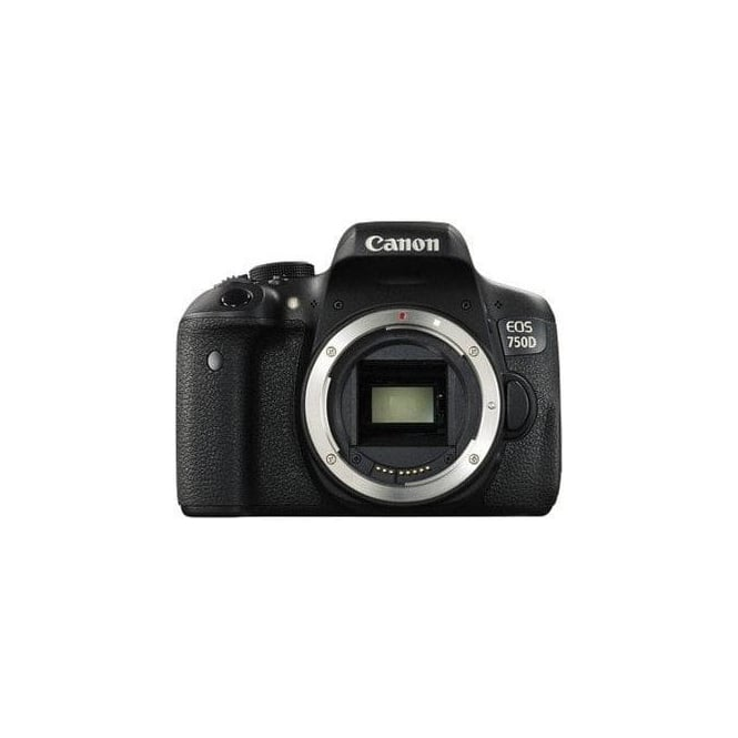Canon EOS-750D 24.2 Megapixel APS-C Digital SLR Camera Body Only