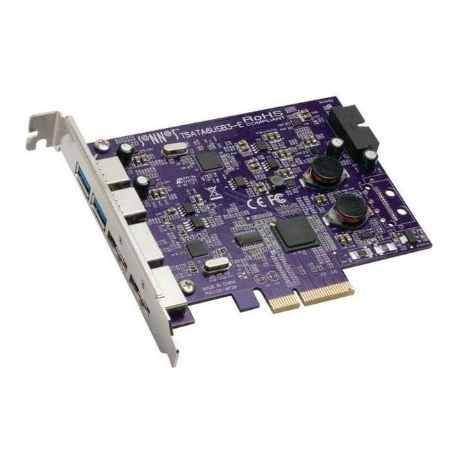 Sonnet SON-TSATA6USB3-E Tempo Duo PCIe 2-port Card