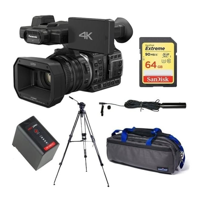 Panasonic HC-X1000 4K Ultra HD Camcorder package D