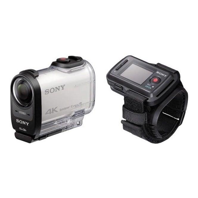 Sony FDRX1000VR.CEN FDR-X1000V 4K Action Cam Live View Remote Kit