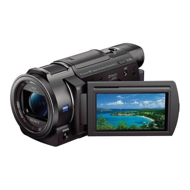 Sony FDR-AXP33 4K Handycam Camcorder with Built-in Projector