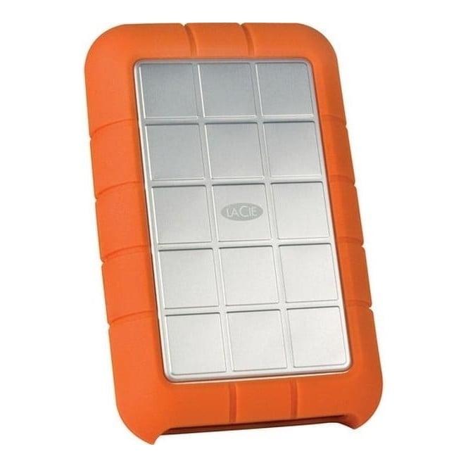 LaCie 301983 500GB Rugged Triple Interface USB 3.0 Portable Hard Drive