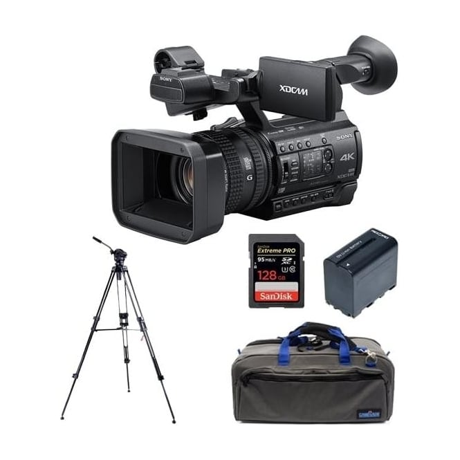 Sony PXW-Z150//C 1.04K Handy Camcorder Package D