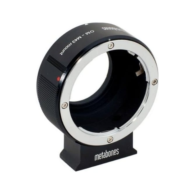 Metabones MB_OM-M43-BM1 Olympus OM to Micro FourThirds adapter Black Matt