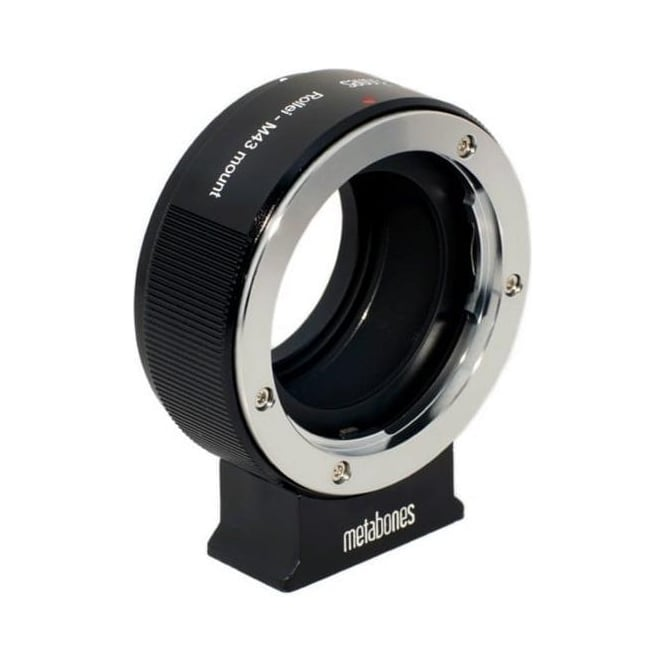 Metabones MB_ROLLEI-M43-BM1 ROLLEI QBM to Micro FourThirds adapter Black Matt