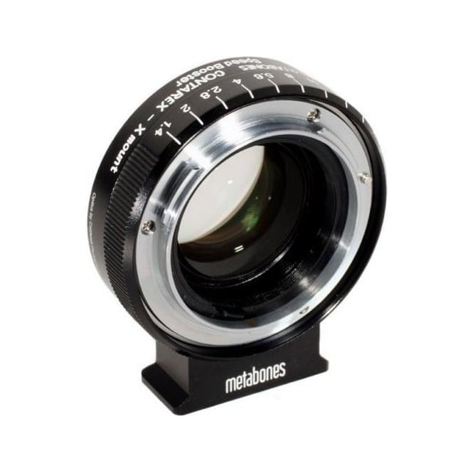 Metabones MB_SPCX-X-BM1 Contarex to Xmount Speed Booster  0.71x Black Matt