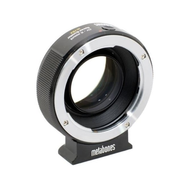 Metabones MB_SPCY-X-BM2 Contax Yashica to Xmount Speed Booster ULTRA 0.71x Black Matt