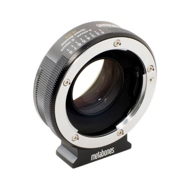 Metabones MB_SPA-E-BM2 Sony Alpha to E-mount Speed Booster ULTRA 0.71x Black Matt