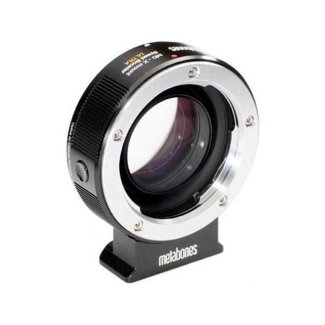 Metabones MB_SPMD-X-BM2 Minolta MD to X-mount Speed Booster ULTRA 0.71x Black Matt