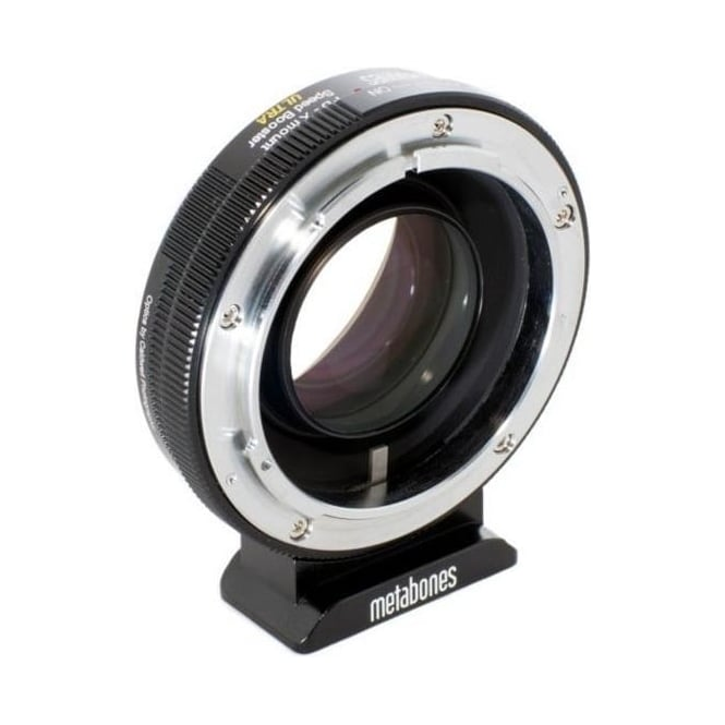 Metabones MB_SPFD-X-BM2 Canon FD to X-mount Speed Booster  ULTRA 0.71x Black Matt