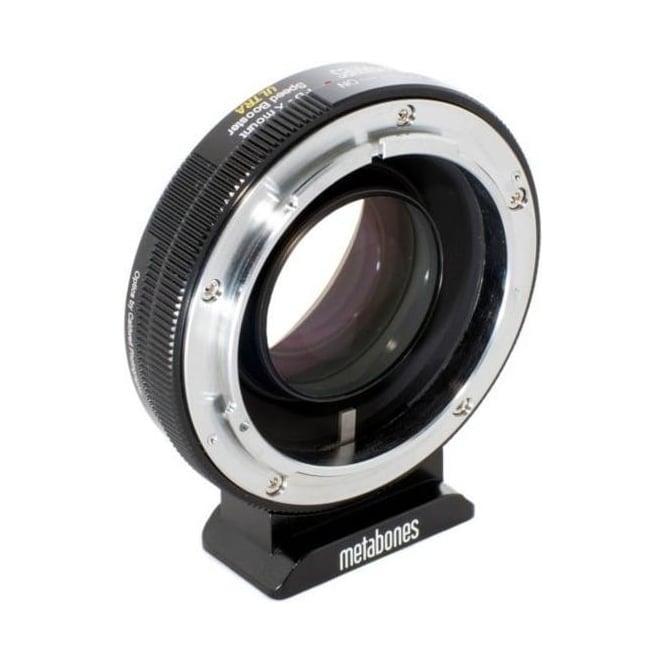 Metabones MB_SPFD-X-BM2 Canon FD to X-mount Speed Booster  ULTRA 0.71x Black Matt