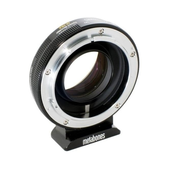 Metabones MB_SPFD-E-BM2 Canon FD to E-mount Speed Booster  ULTRA 0.71x Black Matt