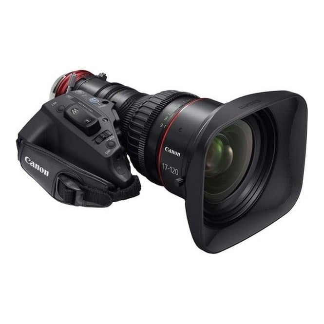 Canon CN7x17 KAS S 4K Cine-Servo 17-120mm T2.95-3.9 PL mount