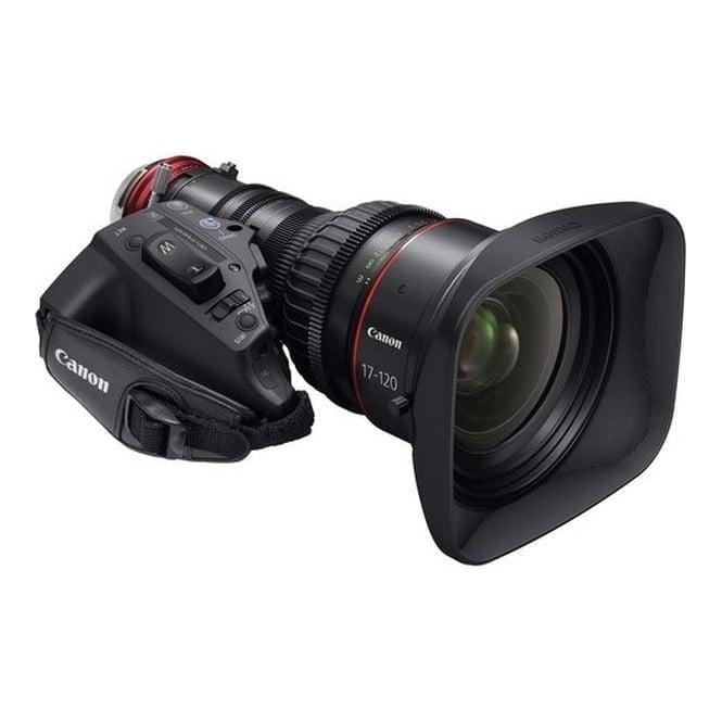 Canon CN7x17 KAS S/E1 4K Cine-Servo Lens 17-120mm/T2.95-3.9-EF