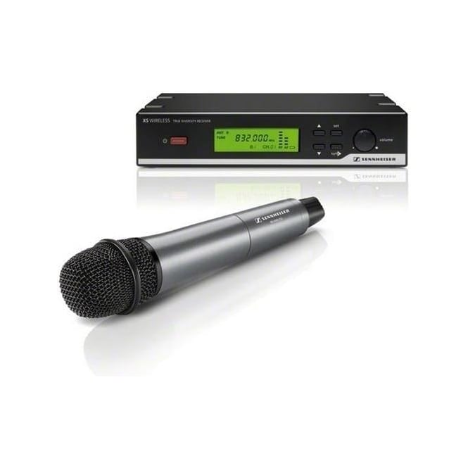 Sennheiser 504933 XSW 35 Vocal set with dynamic cardioid microphone